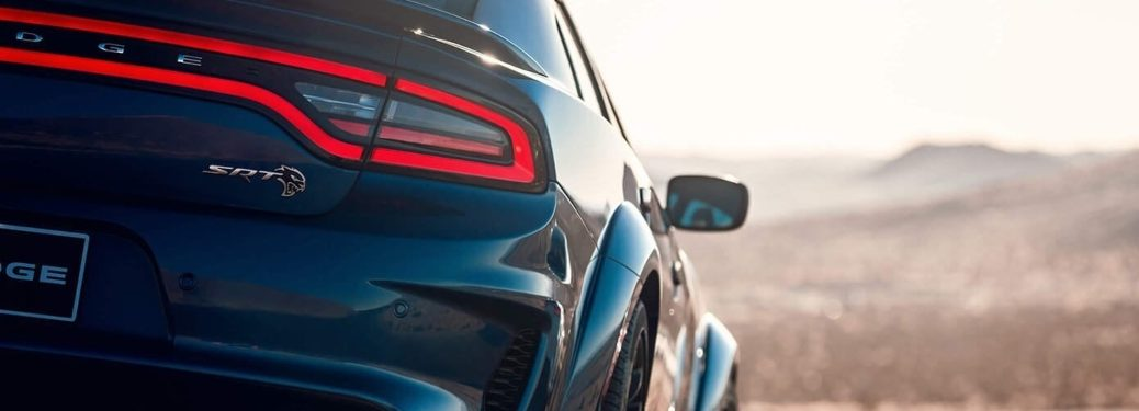 2020 Dodge Charger back end