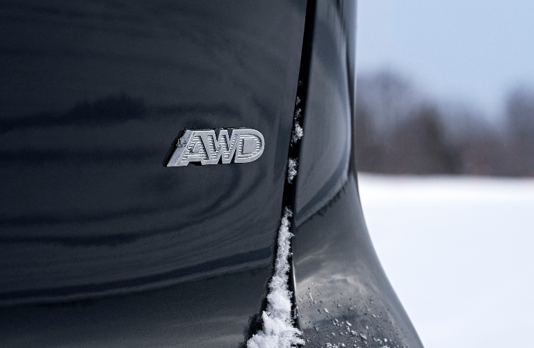 2021 Chrysler Pacifica AWD Back End Badging
