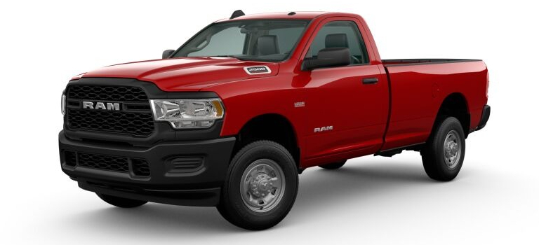 2020 RAM 2500 Flame Red