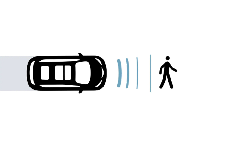 Pedestrian Automatic Emergency Braking in the 2021 Chrysler Voyager