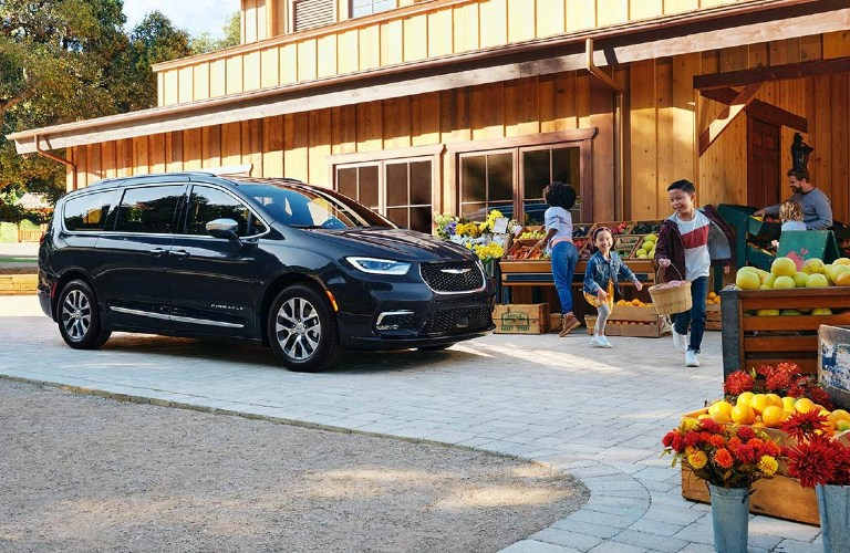 2021 Chrysler Pacifica at the market