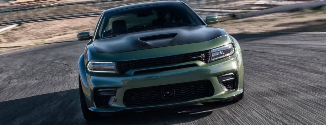 2021 Dodge Charger going down the road