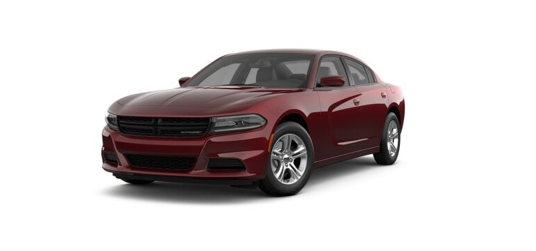 2021 Dodge Charger Octane Red