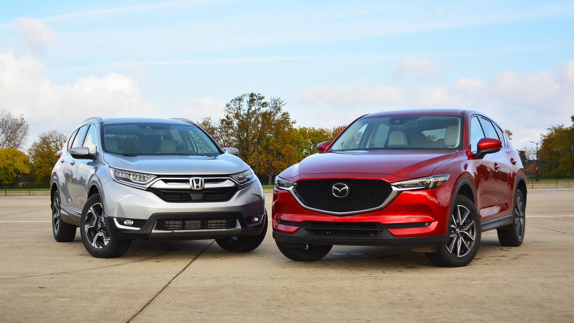 Mazda CX-5: Competing vs. Honda CR-V