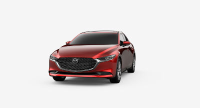 2020 Mazda3 Soul Red Crystal Metallic