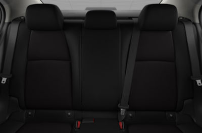 2020 Mazda3 interior Black Cloth