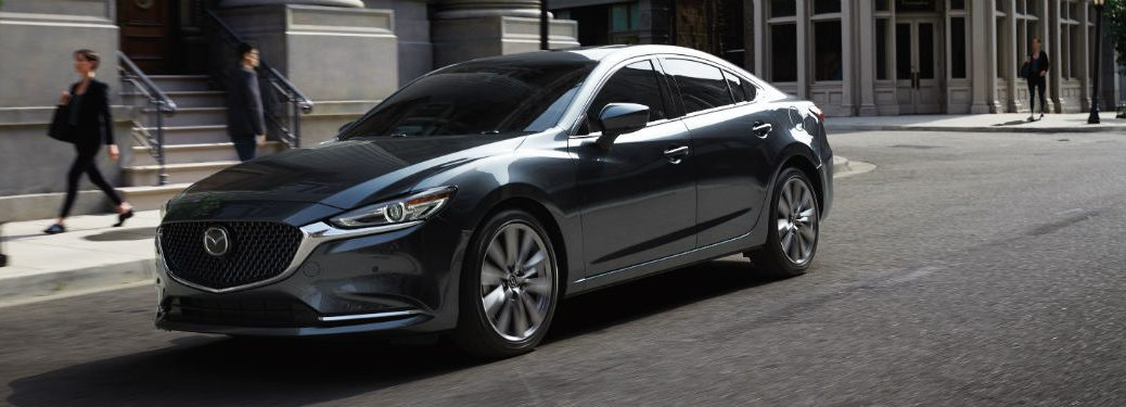 2020 Mazda6 exterior front fascia driver side parked