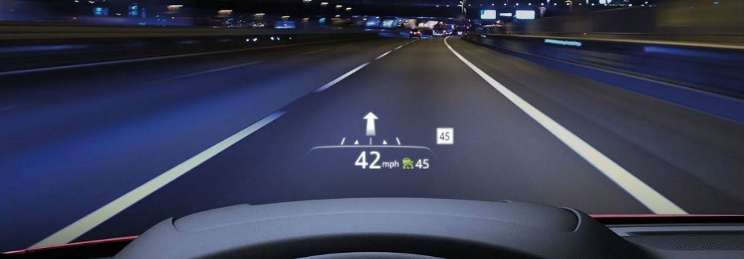 What is the Mazda Active Driving Display Feature?
