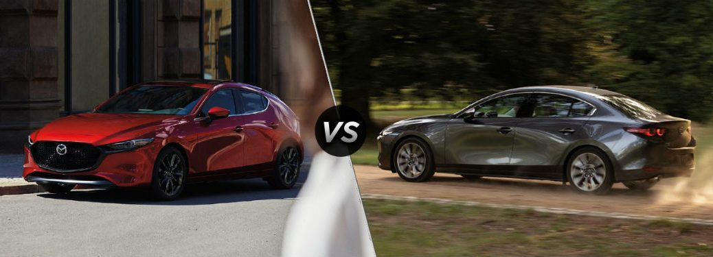 2020 mazda3 hatchback vs sedan