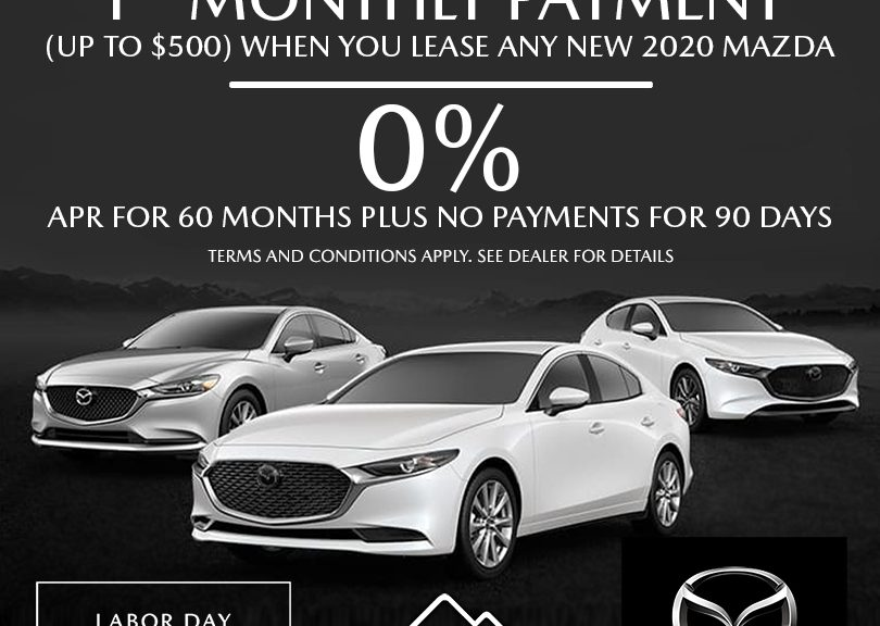 Labor Sale Event at Fontana Mazda