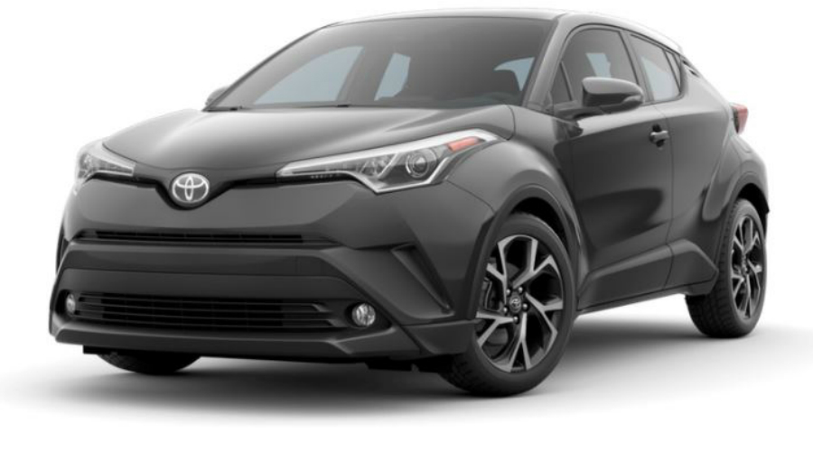 2018 Toyota C-HR in Magnetic Gray Metallic