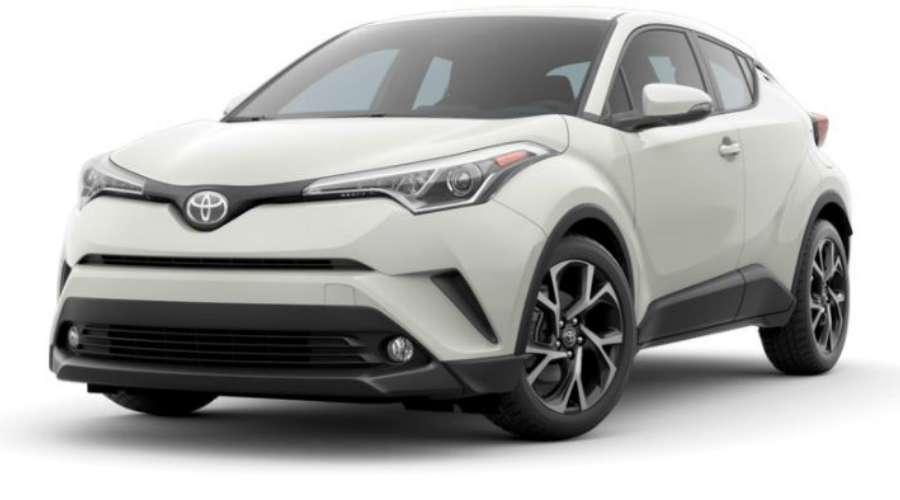 2018 Toyota C-HR in Blizzard Pearl