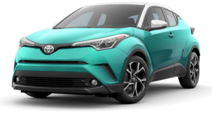 2018 Toyota C-HR in Radiant Green Mica R-Code