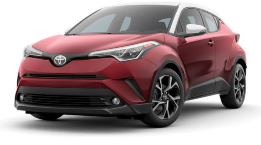 2018 Toyota C-HR in Ruby Flare Pearl R-Code
