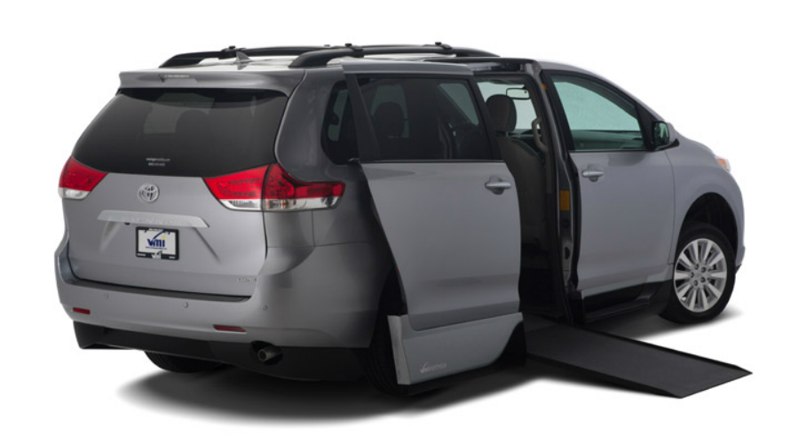 Side ram in a Toyota Mobility Sienna