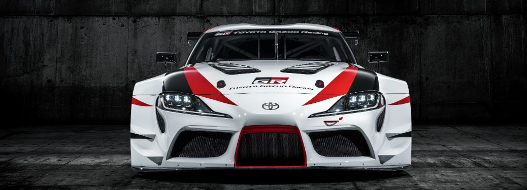 Front view of the new Toyota GR Supra Racing Concept