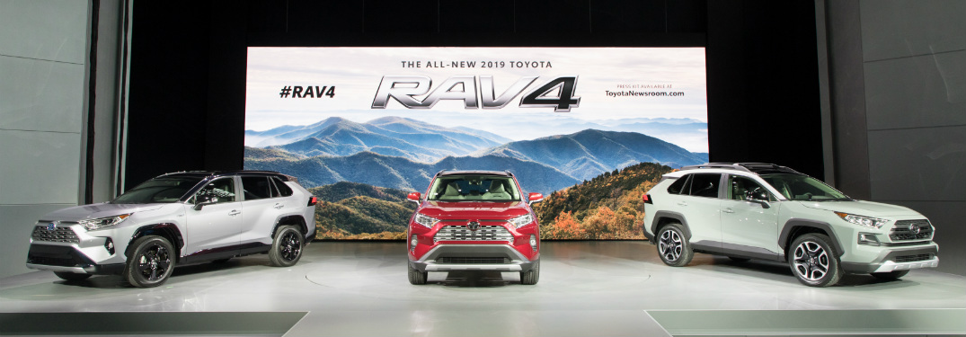 New Toyota RAV4 Makes its Debut at NYIAS