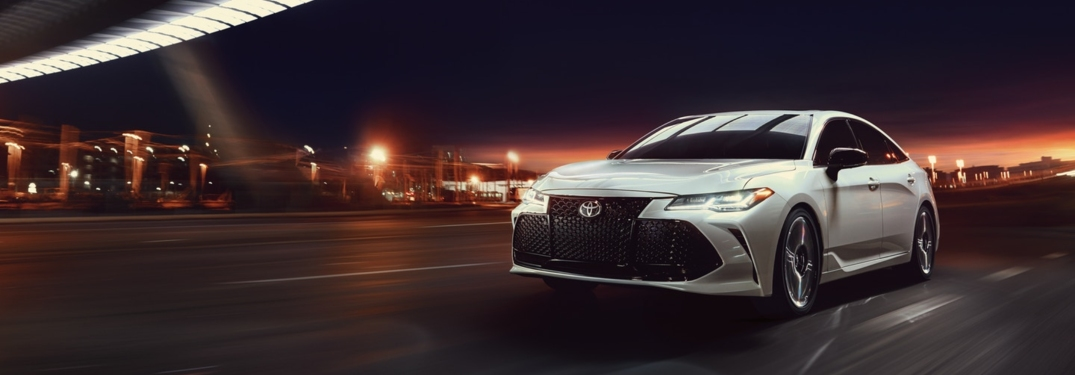 New Toyota Avalon Impresses with Powerful Engine Options