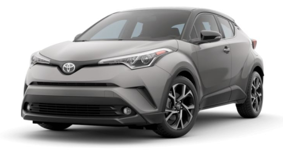 2019 Toyota C-HR in Silver Knockout Metallic R-Code Black