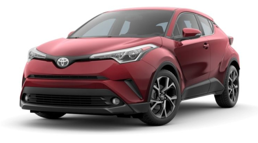 2019 Toyota C-HR in Ruby Flare Pearl