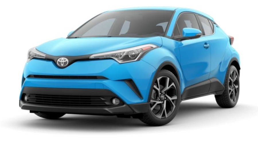 2019 Toyota C-HR in Blue Flame