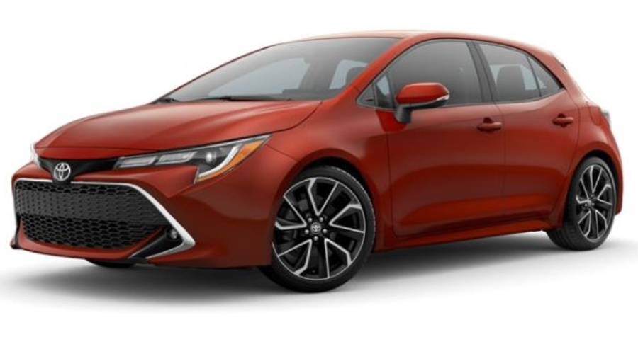 What Colors Does The 2019 Toyota Corolla Hatchback Come In