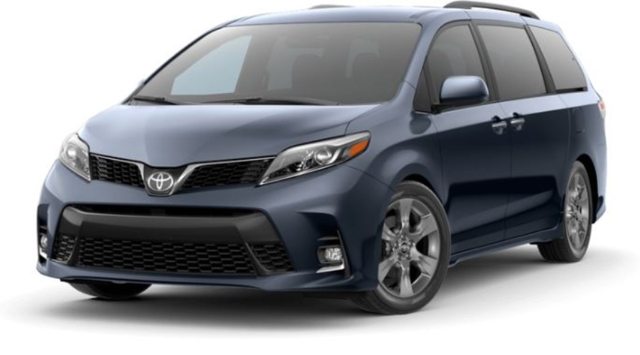 2019 Toyota Sienna in Parisian Night Pearl
