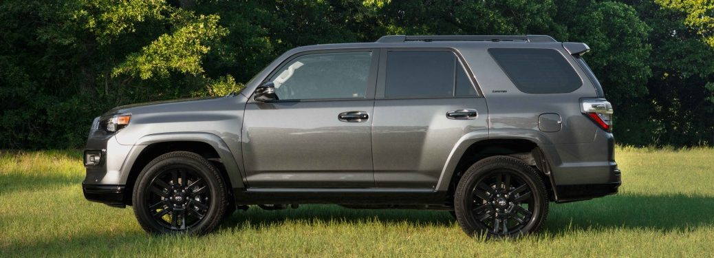 Side view of a 2019 Toyota 4Runner Nightshade Special Edition