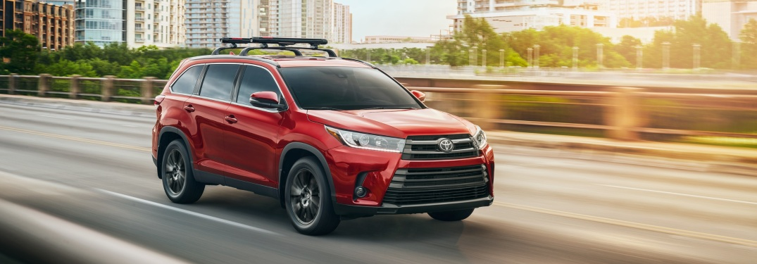 Various Engine Options Available with new Highlander SUV