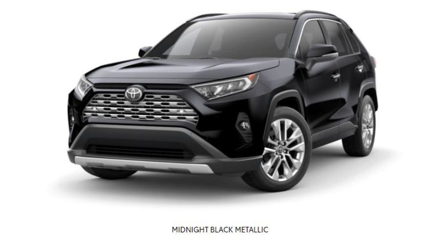 2019 Toyota RAV4 in Midnight Black Metallic