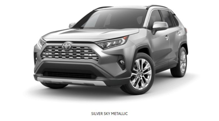 2019 Toyota RAV4 in Silver Sky Metallic