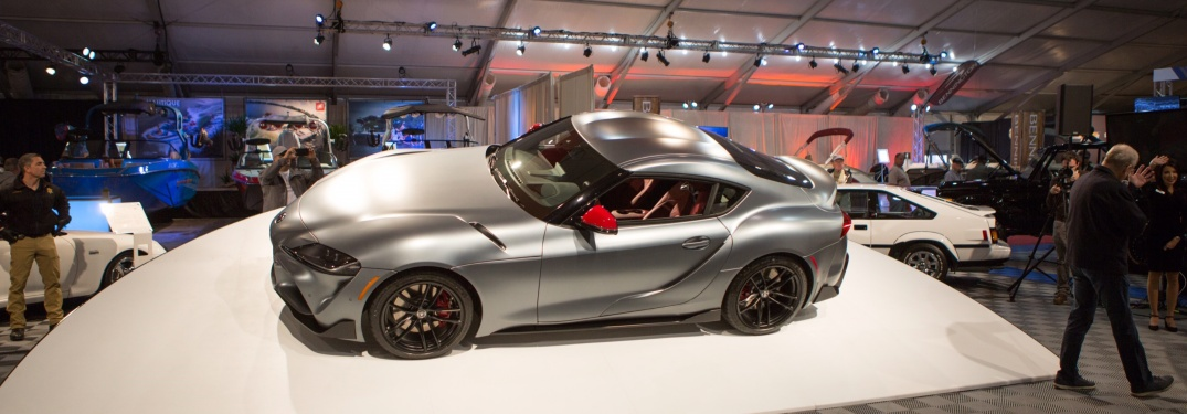 See the First Ever 2020 Supra Sold