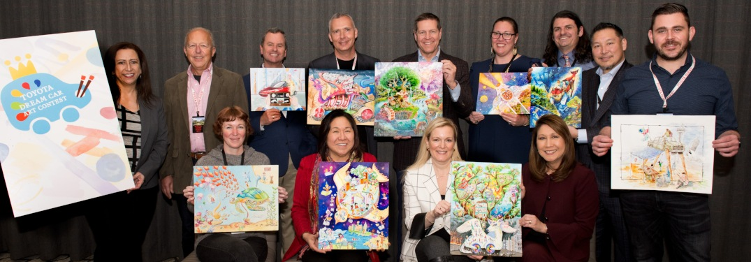What is the Toyota Dream Car Art Contest?