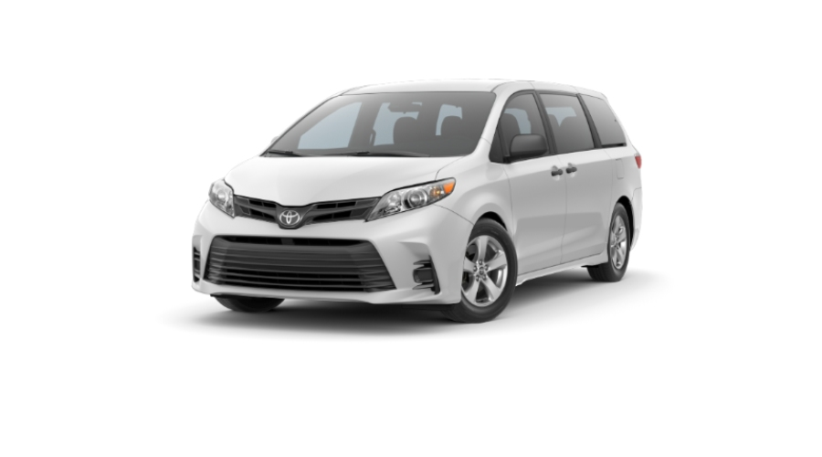 2020 Toyota Sienna in Super White
