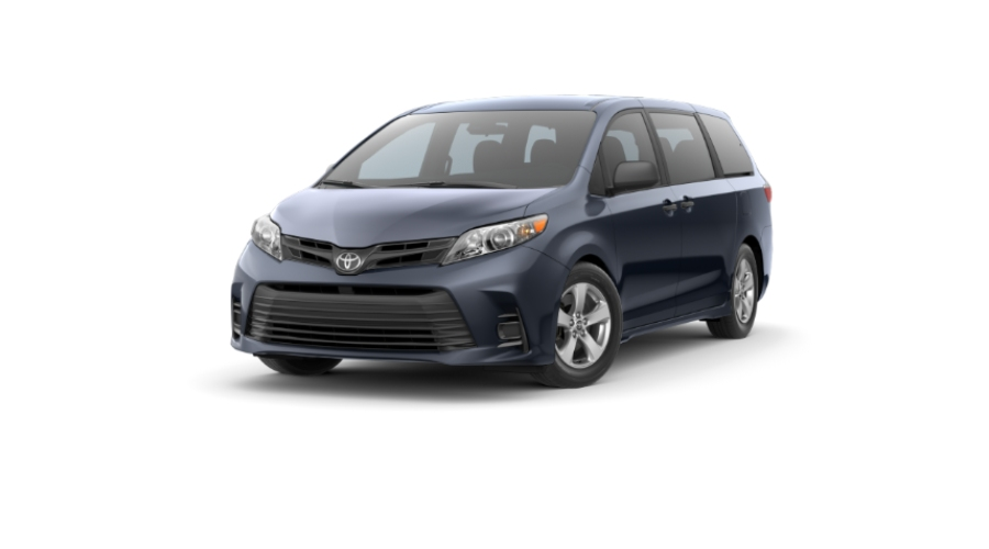 2020 Toyota Sienna in Parisian Night Pearl