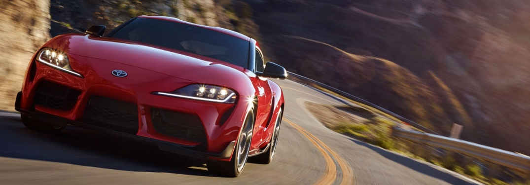 Check out the color options on the 2020 Toyota Supra!