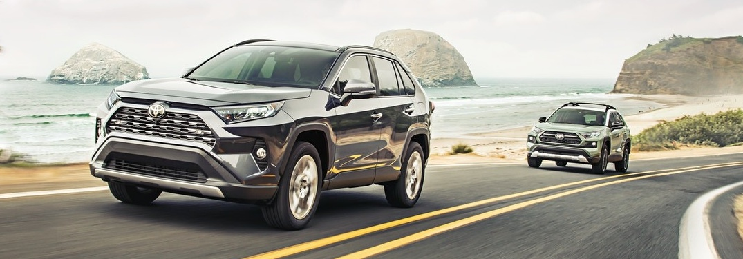 Take to the streets in one of these fun 2020 Toyota RAV4 color options!