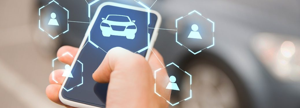 car services controlled from smartphone