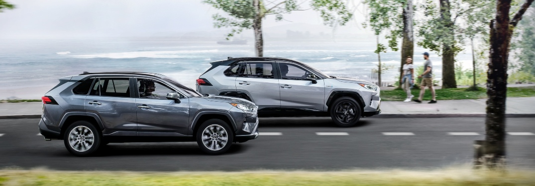 2020 RAV4 gas mileage and range