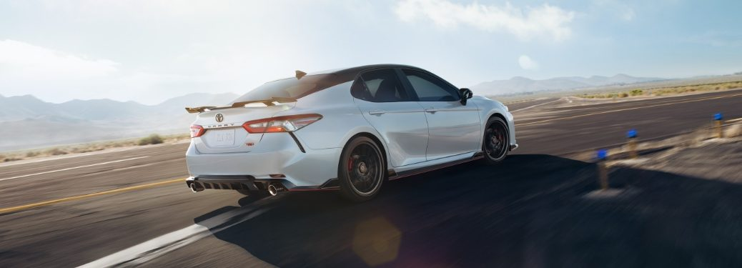 2020 Camry TRD on racetrack