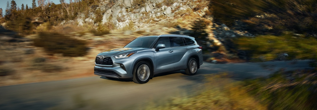 How big is the 2020 Toyota Highlander cargo bay?
