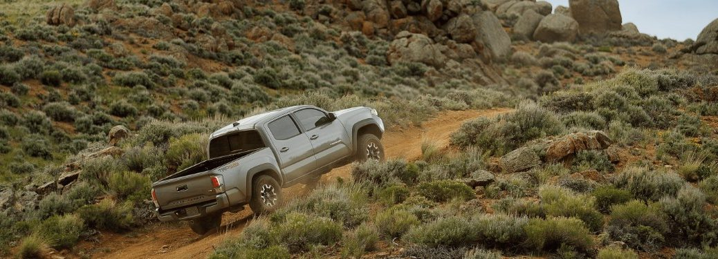 2020 Tacoma driving up hill