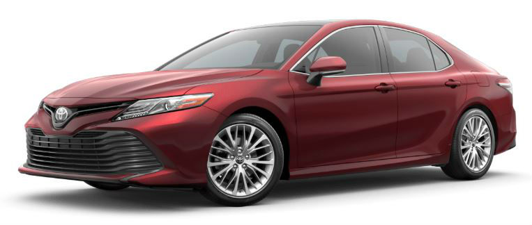 2020 Camry ruby flare