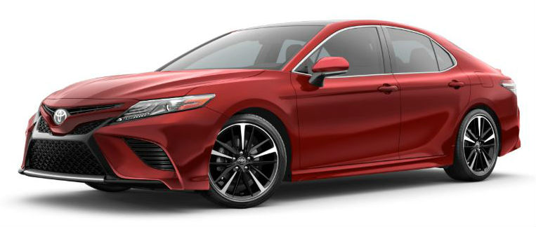 2020 Camry supersonic red