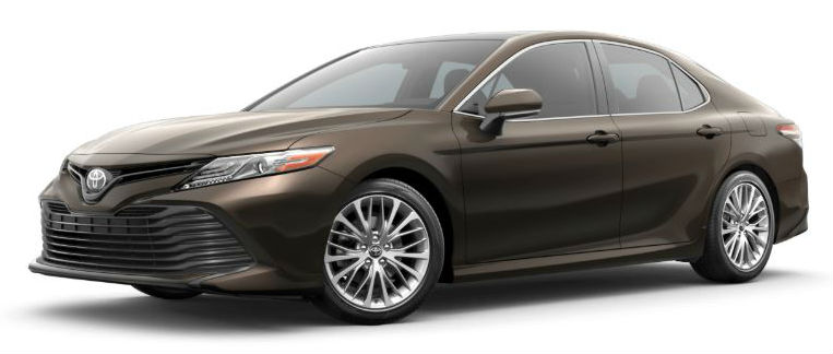 2020 Camry brownstone