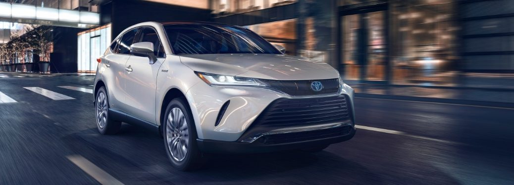 2021 Venza driving on city street