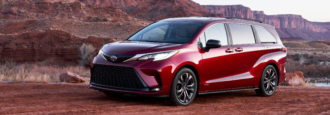 What's new on the 2021 Toyota Sienna?