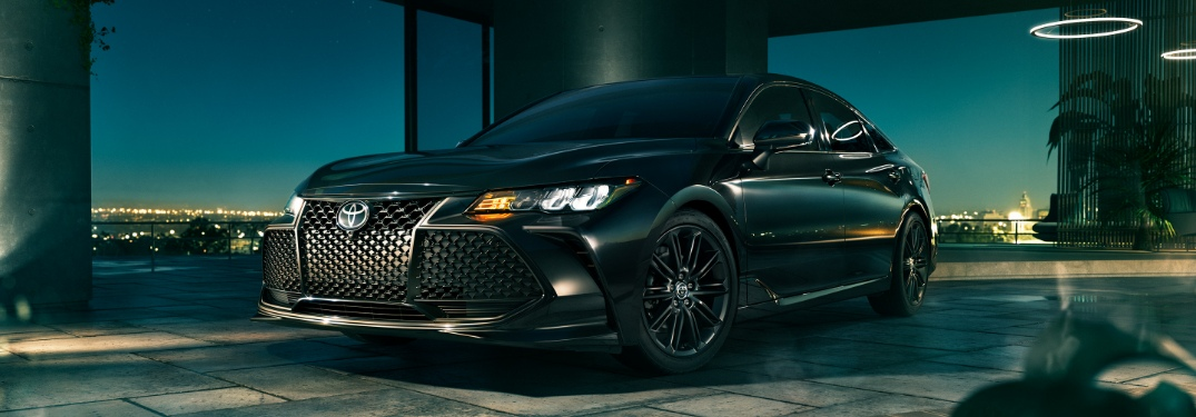 What's new on the 2021 Toyota Avalon?