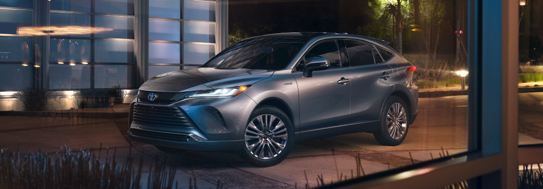 What colors does the 2021 Toyota Venza come in?