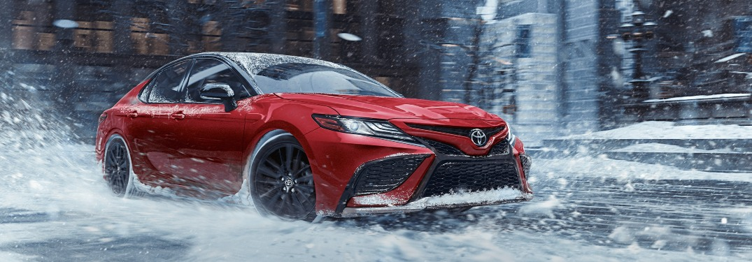 Which 2021 Camry models have available AWD?